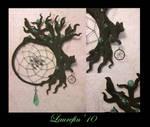 Black tree - dreamcatcher