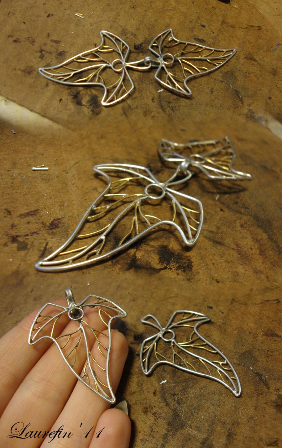 leaves-clasp by Laurefin-Estelinion