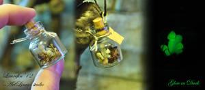 Glow Mushrooms in small bottle