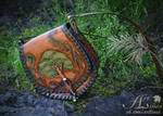 Tree of Life - leather handbag