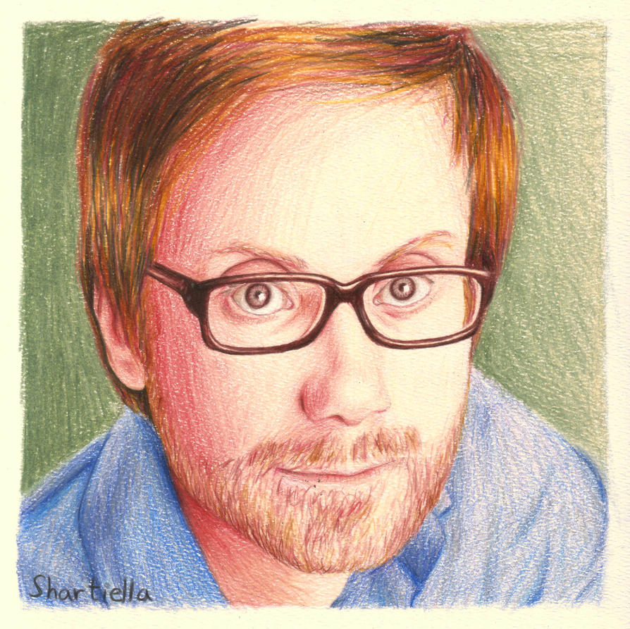 Stephen Merchant by elooly