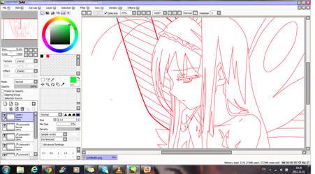 My next Work Accel world (Kuroyukihime) avatar by saras008