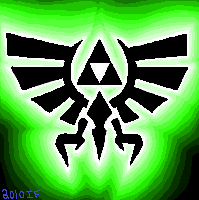 Sagefox Zelda Triforce Icon by Yewneko-chan14
