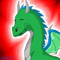 EclipsedWolf Siggie Nomming Dragon Kirous Icon by Yewneko-chan14