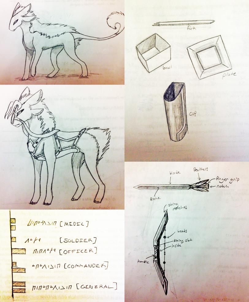 Waivin concept dump 1 by Yewneko-chan14