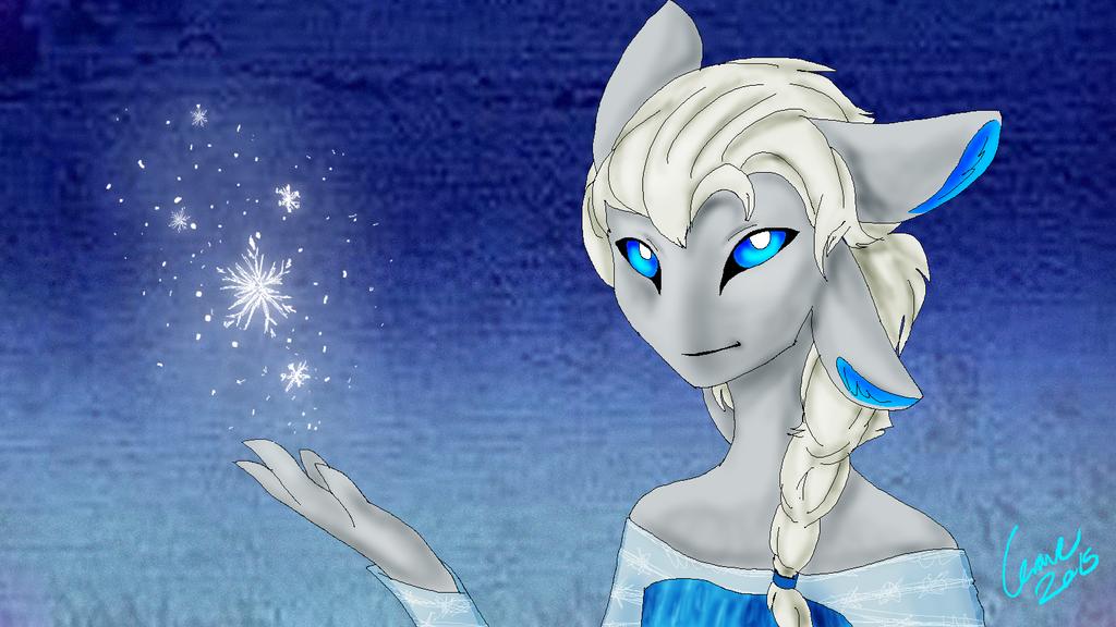 Waivin Elsa by Yewneko-chan14