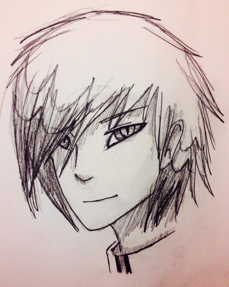 Draven Greycast sketch by Yewneko-chan14