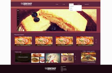 COOKSHEF - portal kulinarny z przepisami by Dziuniart