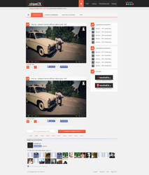 vinpelTV - layout pod portal z krotkimi filmikami