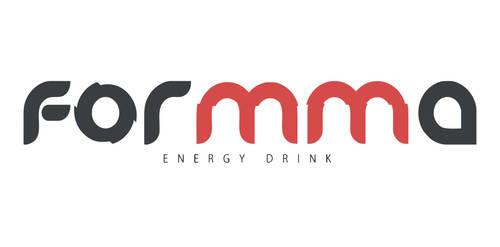 Formma - logotyp napoju by Dziuniart