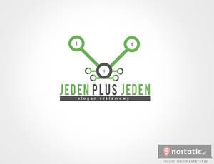 Logotyp - Jeden plus jeden