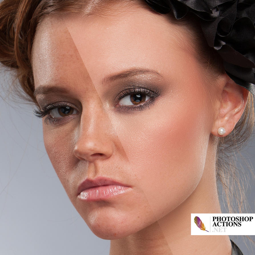 High fashion skin retouching photoshop action free photoshopsikho.