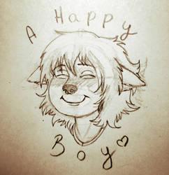 A HAPPY BOY! by OpusPaganus