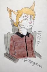 why do you look so grumpy, German boy? by OpusPaganus