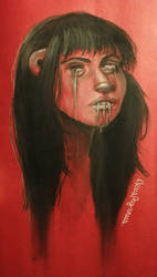 Pain in red by OpusPaganus