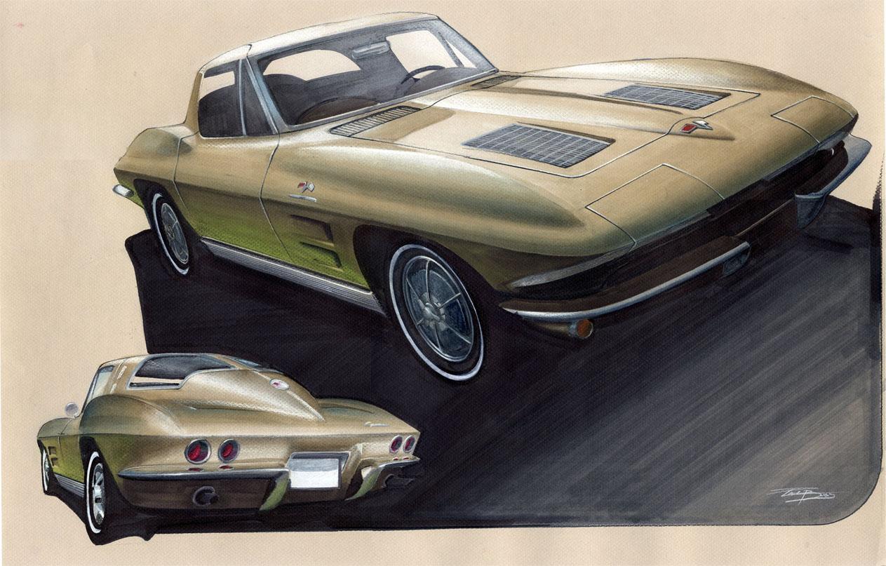 1963 split window corvette by pplbliss on deviantart for 1963 vette split window