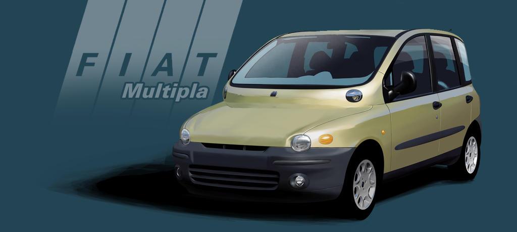 Fiat Multipla by PPLBLISS on DeviantArt