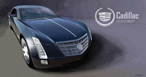 Cadillac Sixteen by PPLBLISS