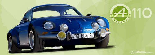Alpine A110 by PPLBLISS