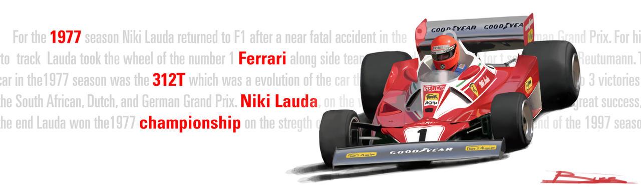 1977 Ferrari F1 by PPLBLISS
