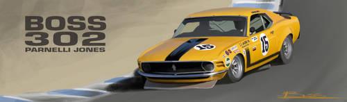 BOSS 302 Mustang by PPLBLISS