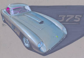 Ferrari 375 MM Coupe Rendering by PPLBLISS