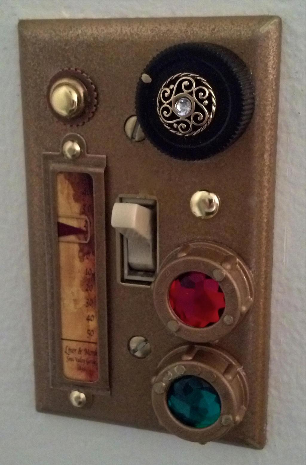 Steampunk Light Switch