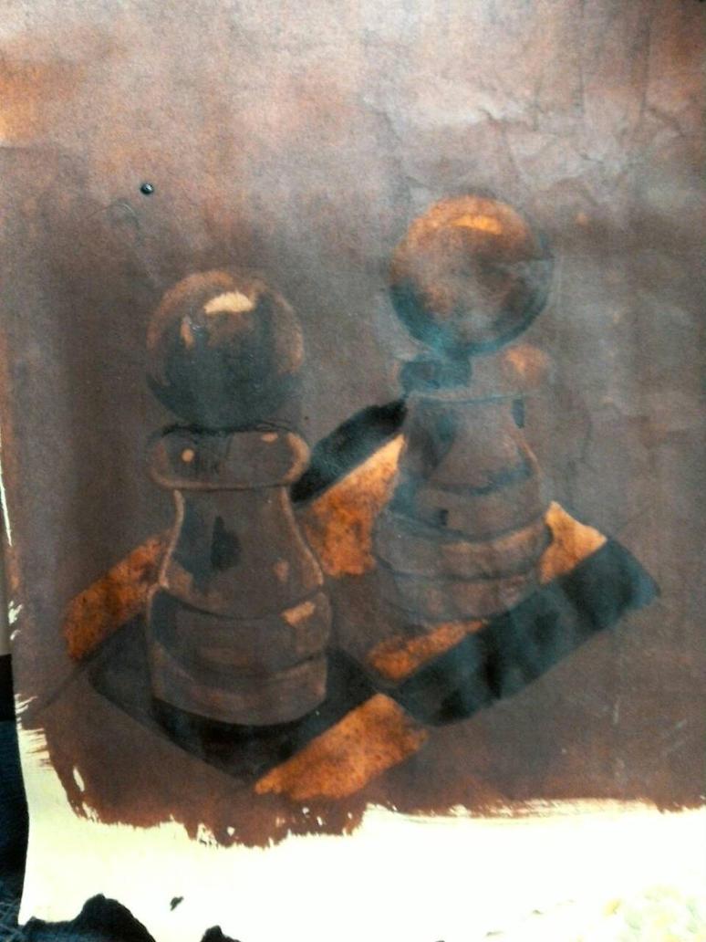 schaakstukken by Ocotber93