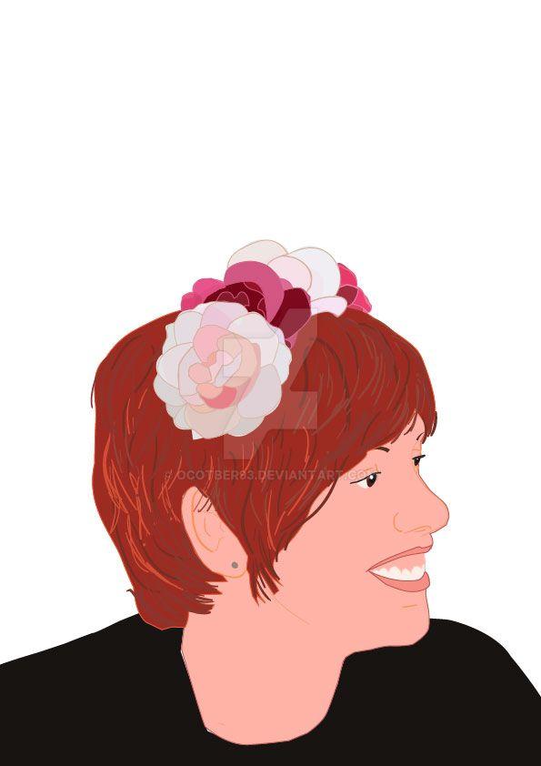 Zelfportret-met-bloemen Boekje by Ocotber93