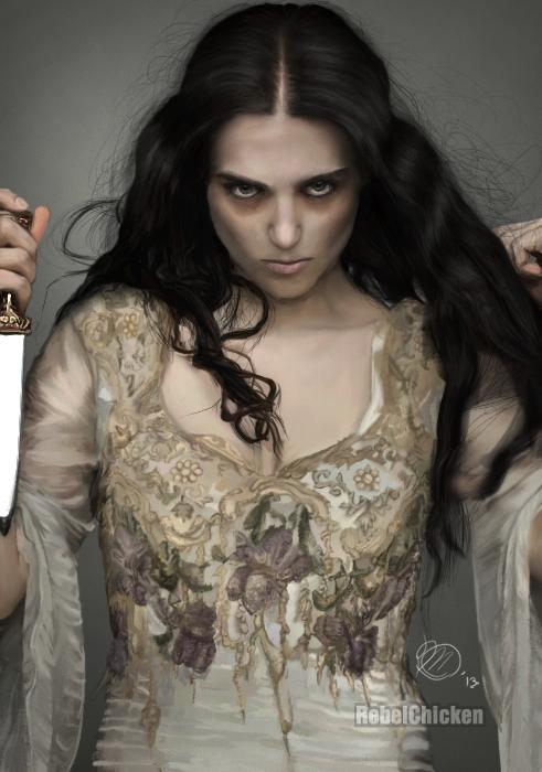 Morgana Pendragon by Mary-Creations