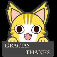 Cat Gracias by Family-Renders