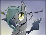 Bat-greetings
