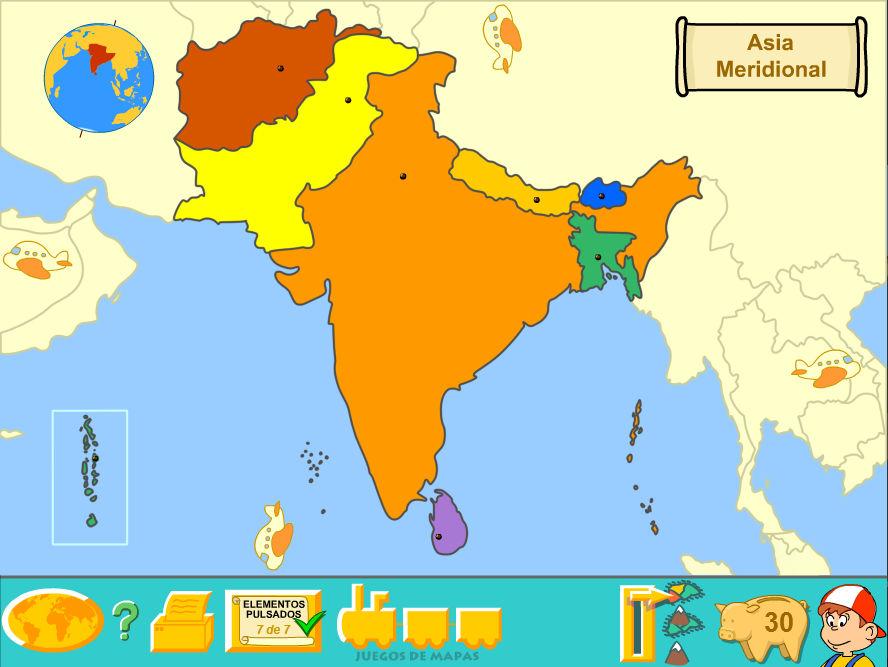 Central Asia (Political Map) by Fernikart57 on DeviantArt