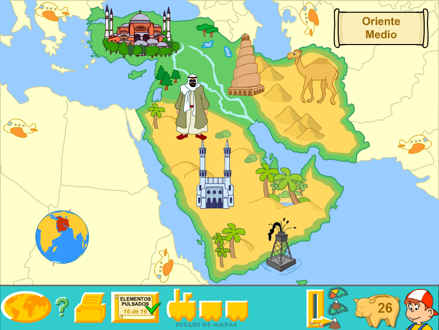 Middle East (Physical Map) by Fernikart57 on DeviantArt