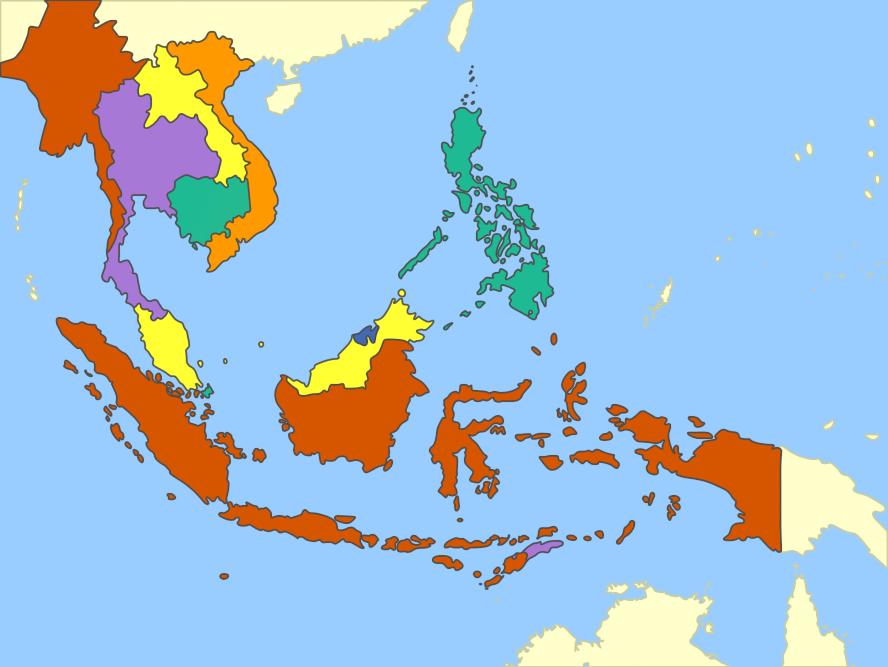 Southeast Asia Mute Political Map by Fernikart57 on DeviantArt – Southeast Asia Map Political