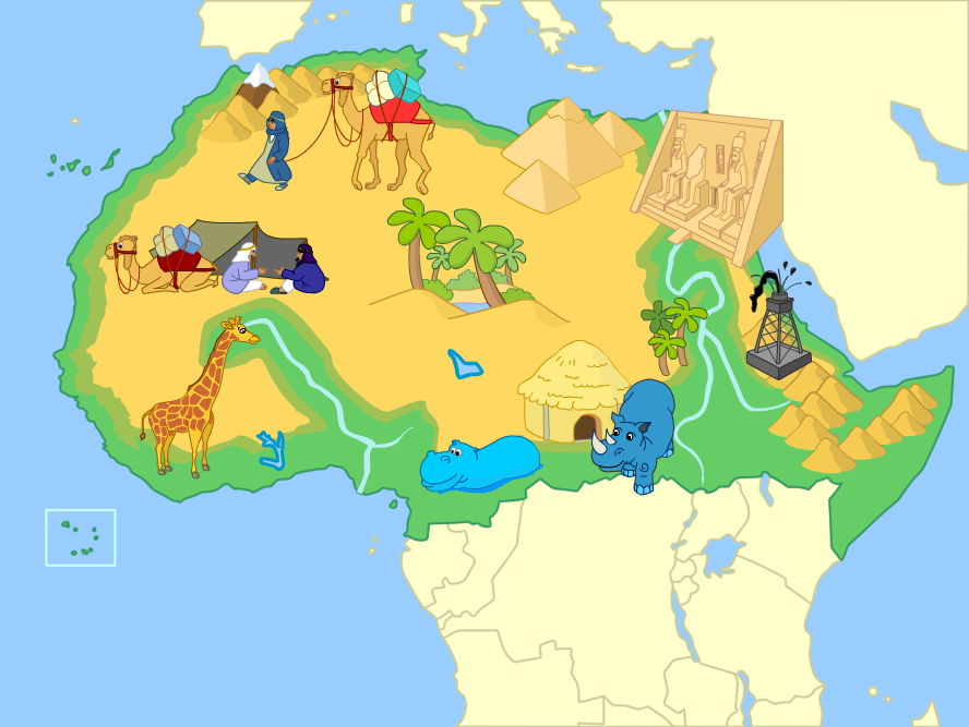 North Of Africa Mute Physical Map By Fernikart On DeviantArt - Physical map of north africa