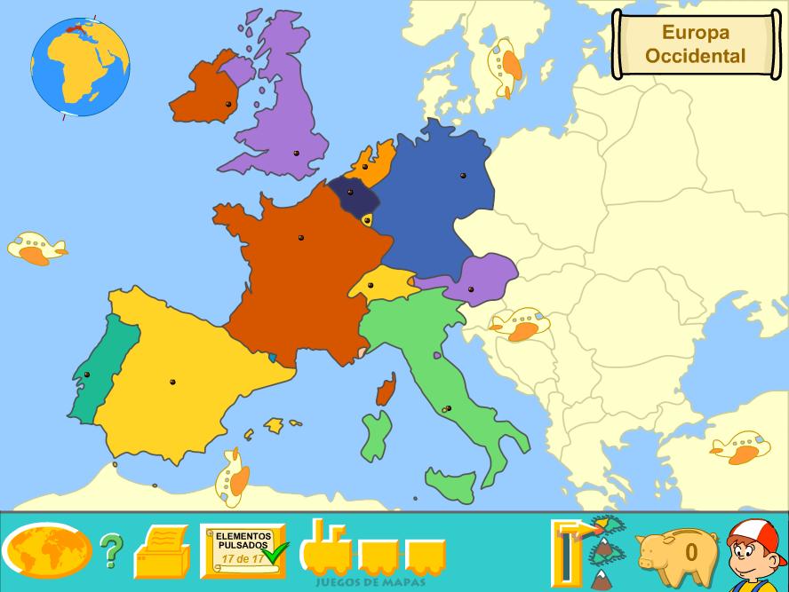 Western Europe (Political Map) by Fernikart57 on DeviantArt