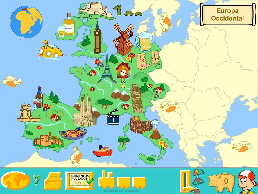 Western Europe Physical Map By Fernikart57 On Deviantart