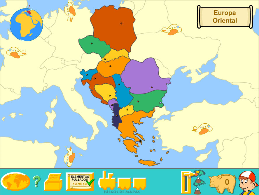 Eastern Europe (Political Map) by Fernikart57 on DeviantArt
