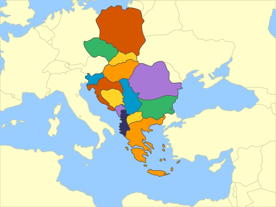 Eastern Europe (Mute Political Map) by Fernikart57 on DeviantArt