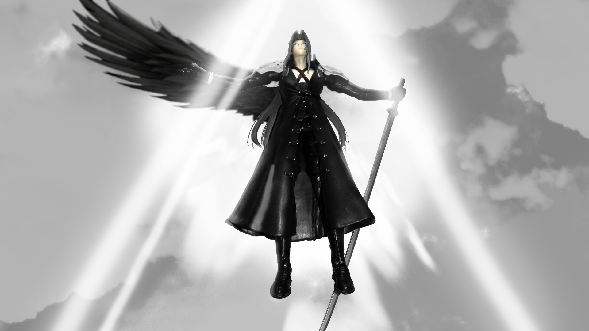 Sephiroth: The one Winged Angel by SEELE-1 on DeviantArt Seele Wallpaper