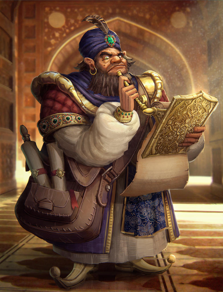 The Scribe by Moozika