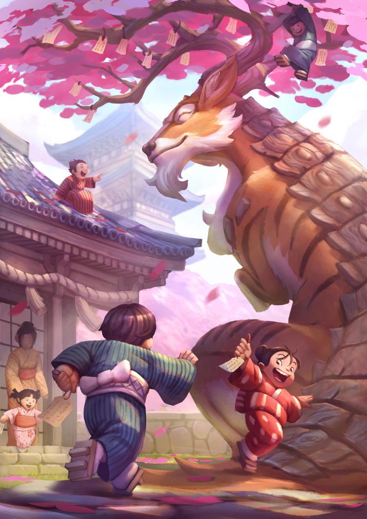 Sakura Dragon Festival by Moozika