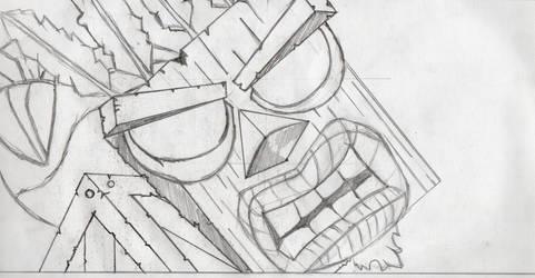 Crash Bandicoot - Aku Aku by CRISSLUMFORD