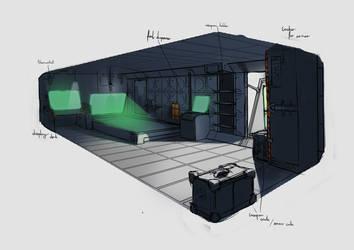 AoM house interior by azariel87