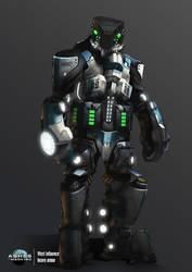 Assault heavy armor by azariel87