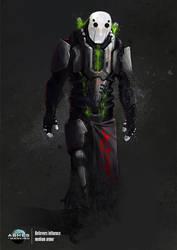 Believers armor by azariel87