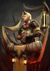 Monk Diablo by azariel87