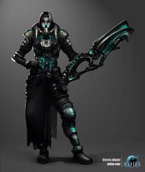 Sci-fi concept armor by azariel87