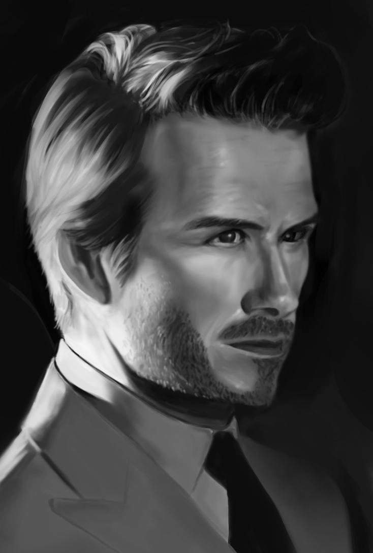 David Beckham by AwkwardTurquoise
